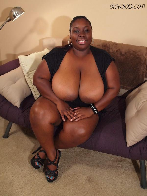 Big tit ebony babe, Latoya.