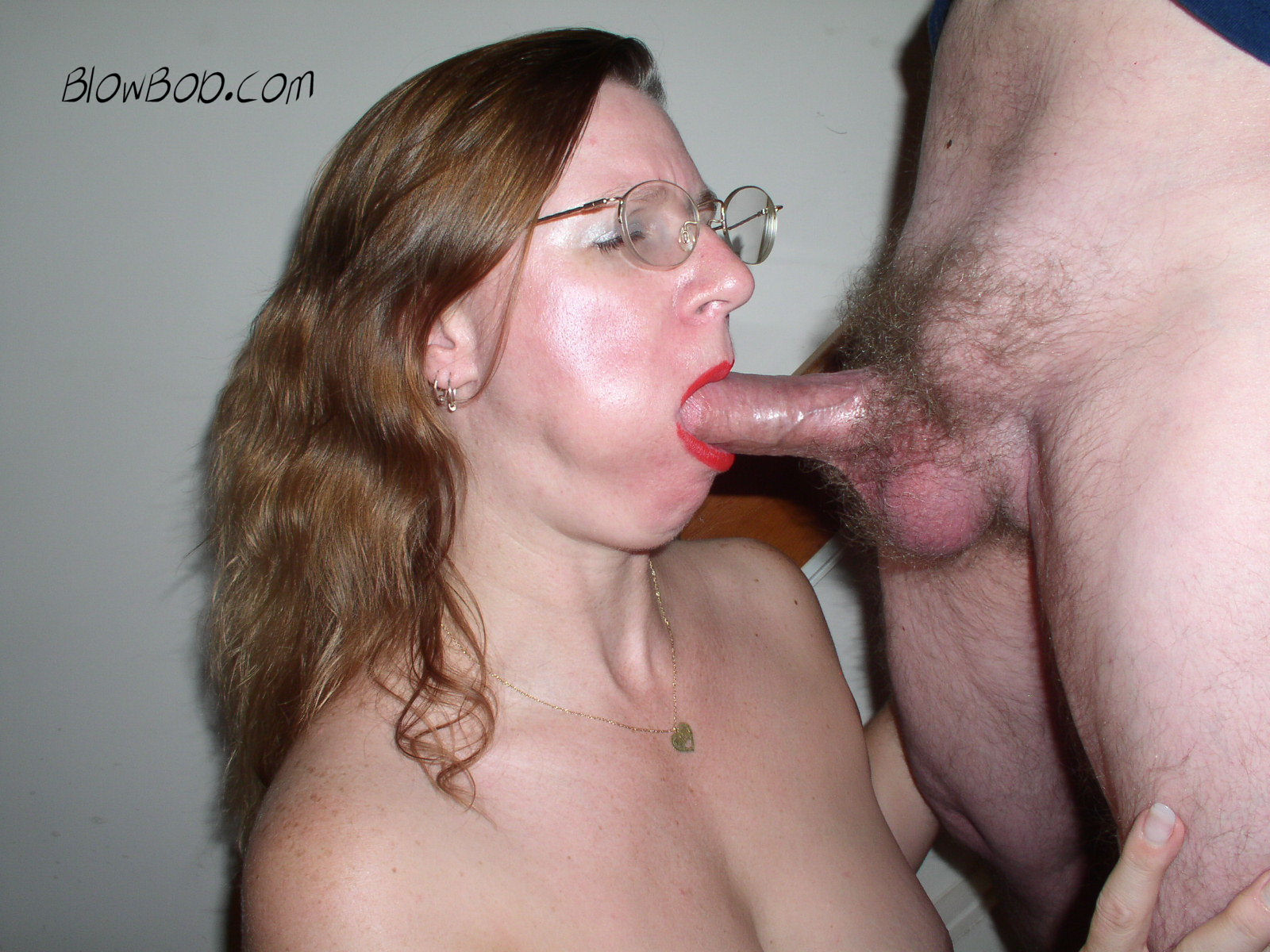 Reheaded milf, Karen, a mature mom gets skull drilled.